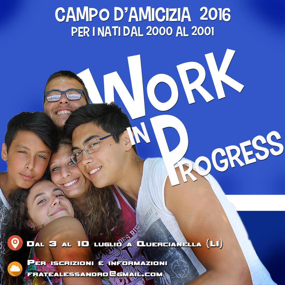 Campo adolescenti 2016
