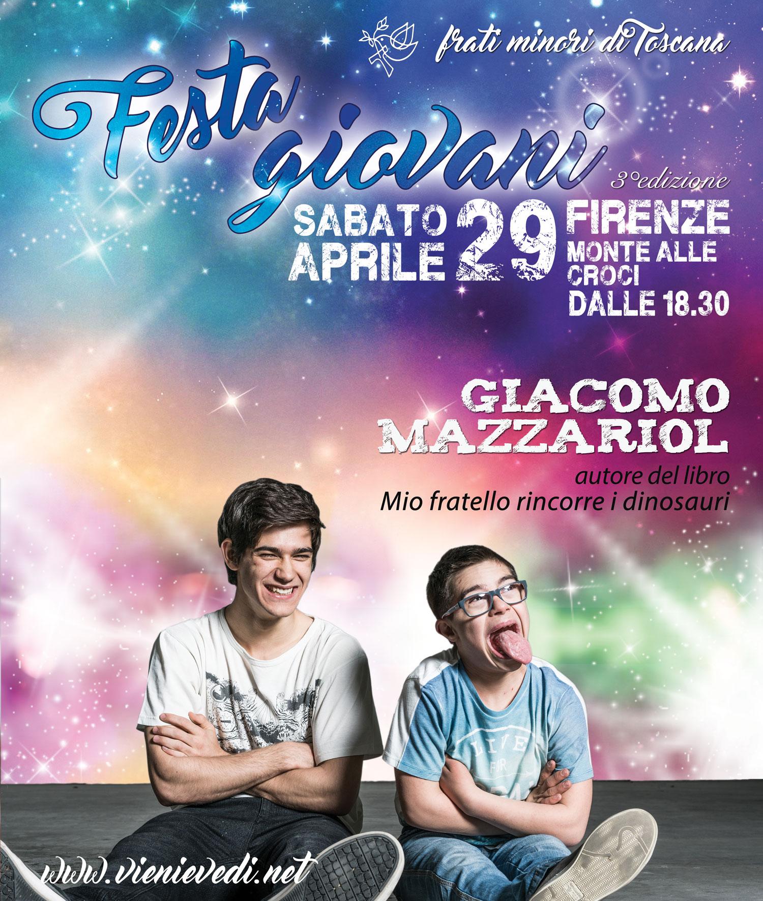 Giacomo Mazzariol alla Festa Giovani 2017 1